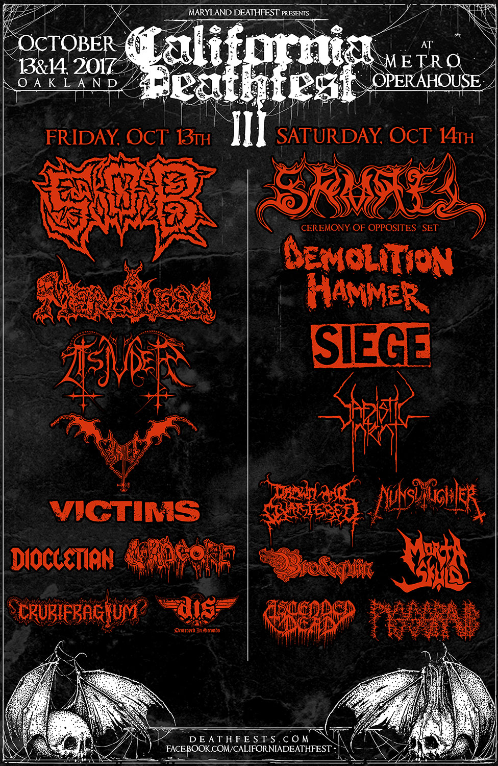 California Deathfest 2017