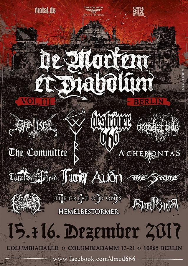 De Mortem et Diabolum Festival 2017
