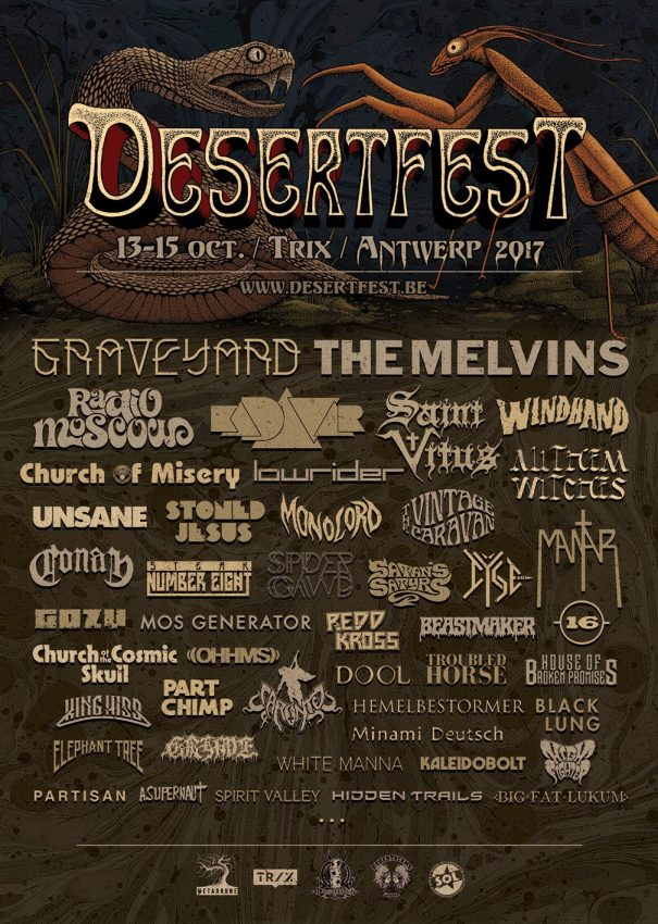Desertfest Antwerp 2017