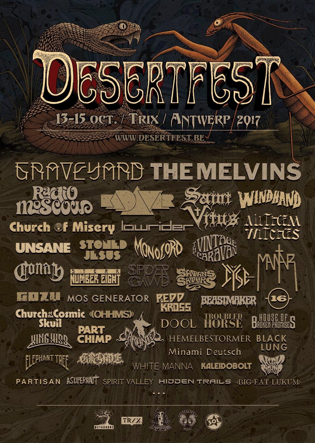 Desertfest Antwerp 2017