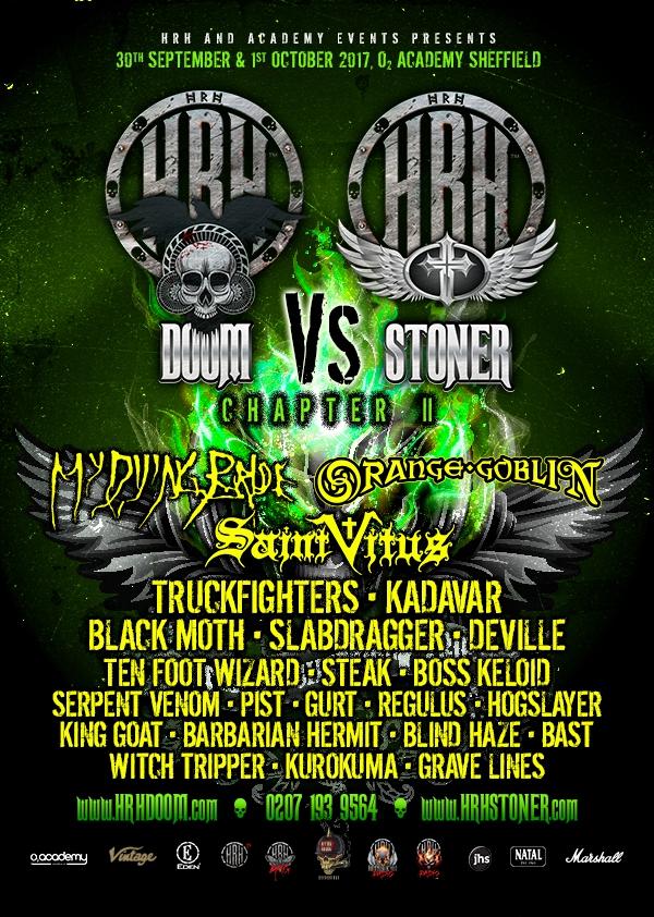 HRH Doom Vs Stoner Festival 2017
