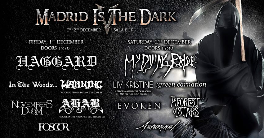 Madrid Is The Dark Fest 2017