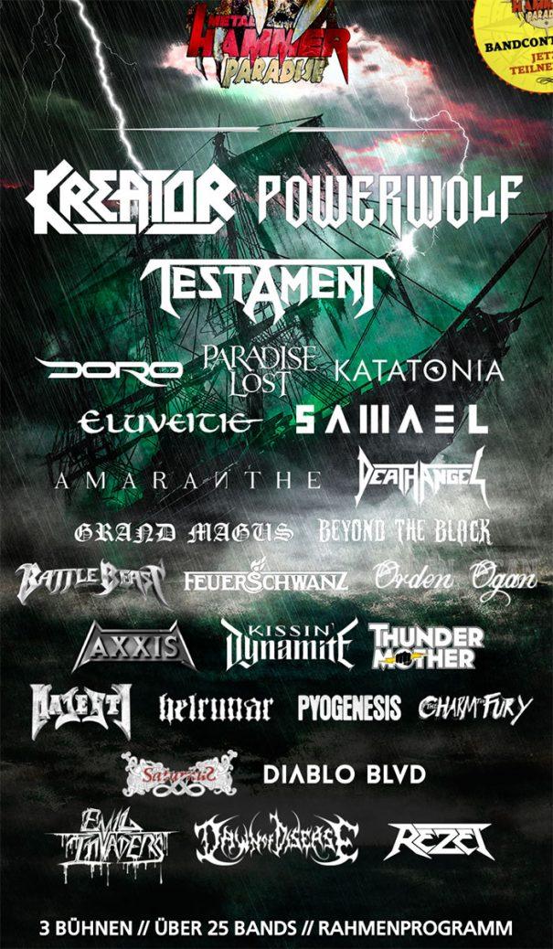 Metal Hammer Paradise 2017