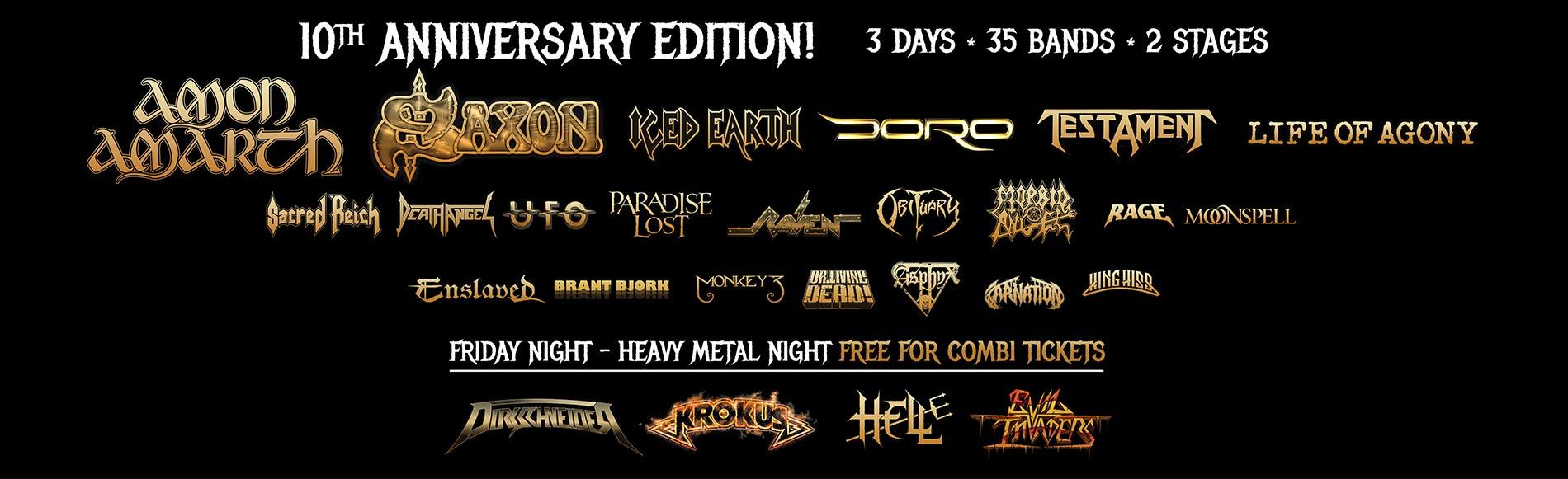 Alcatraz Metal Festival 2017