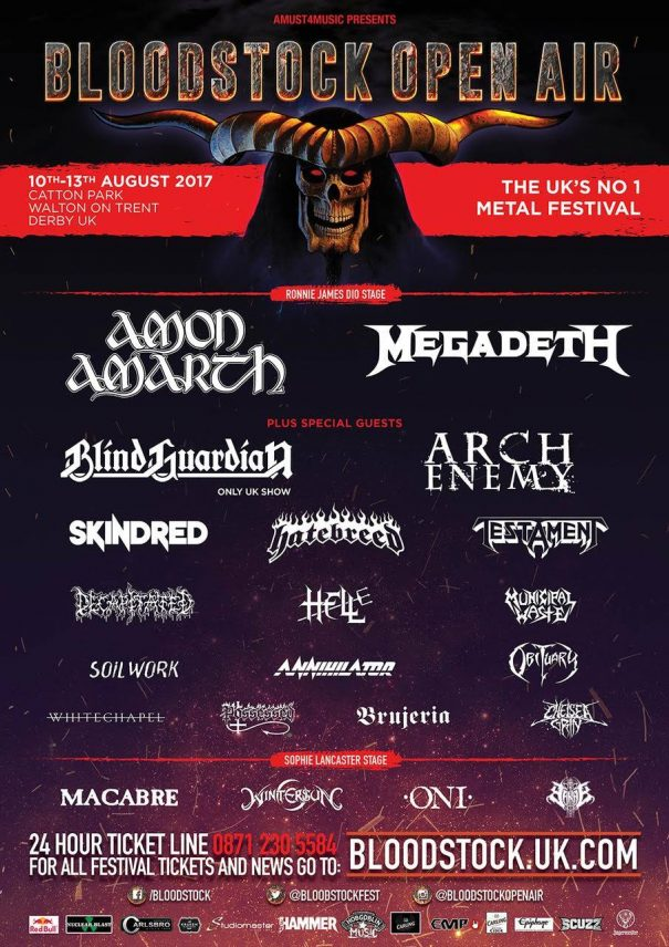 Bloodstock Open Air 2017