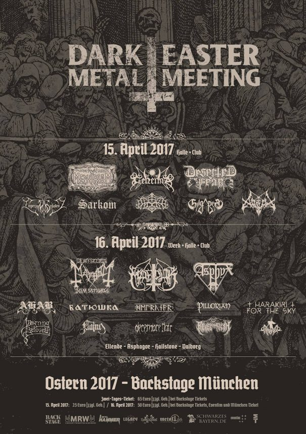 Dark Easter Metal Meeting 2017