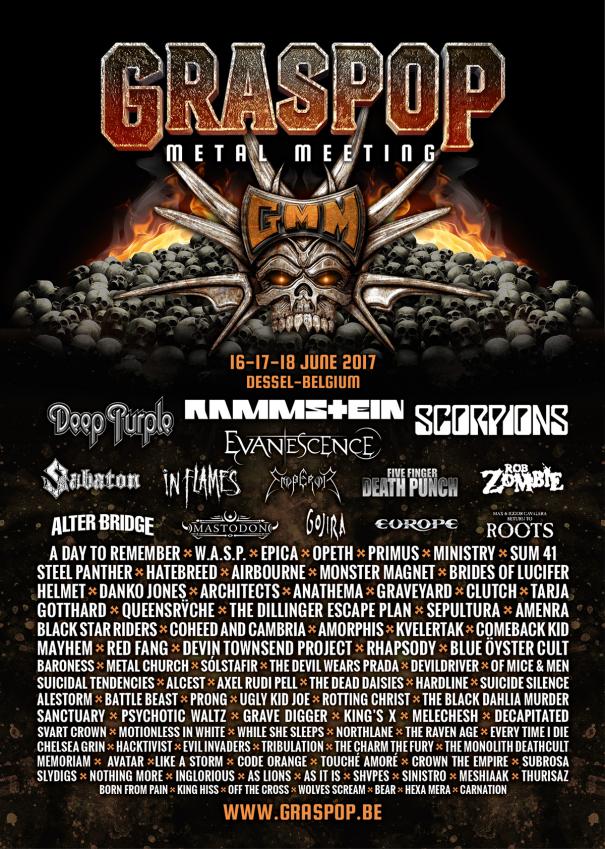 Graspop Metal Meeting 2017 1