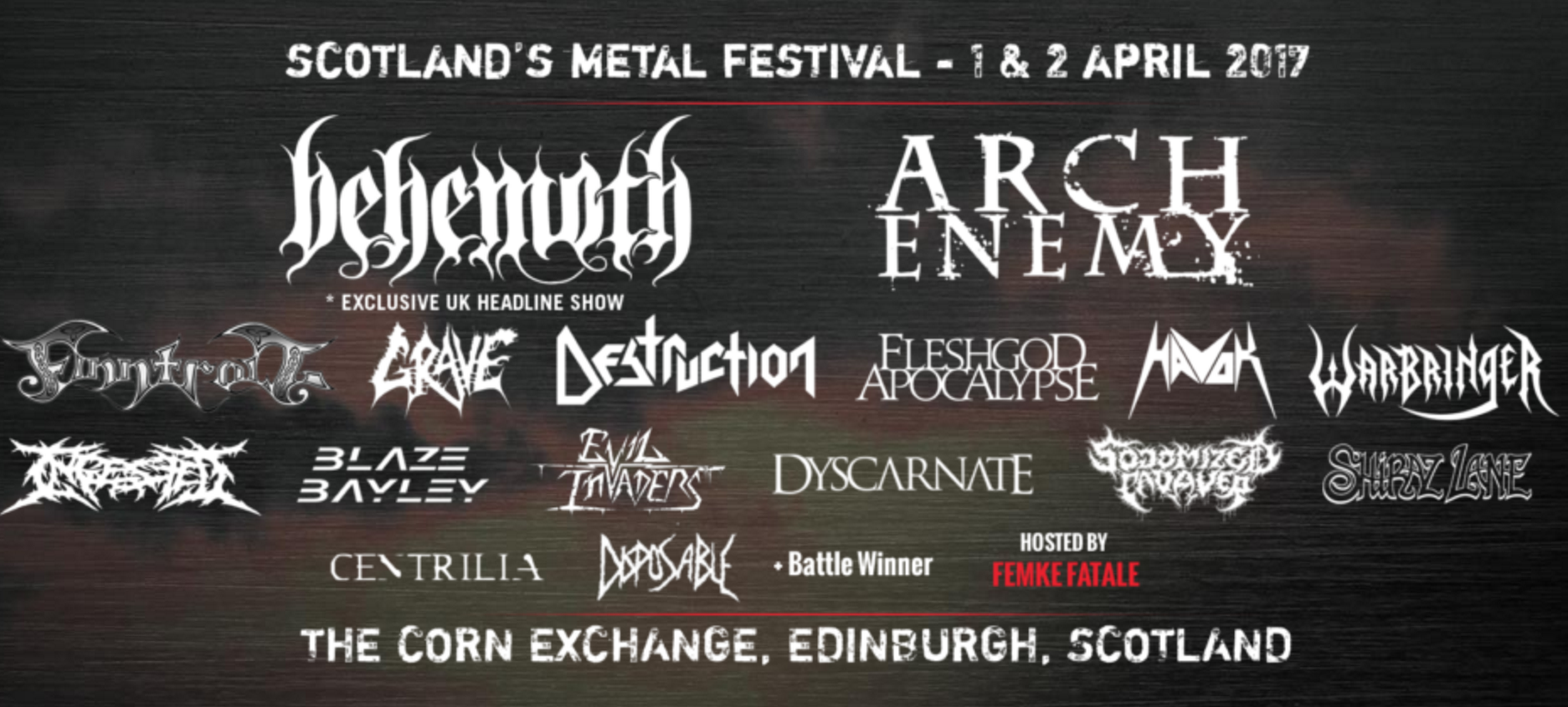 Heavy Scotland 2017