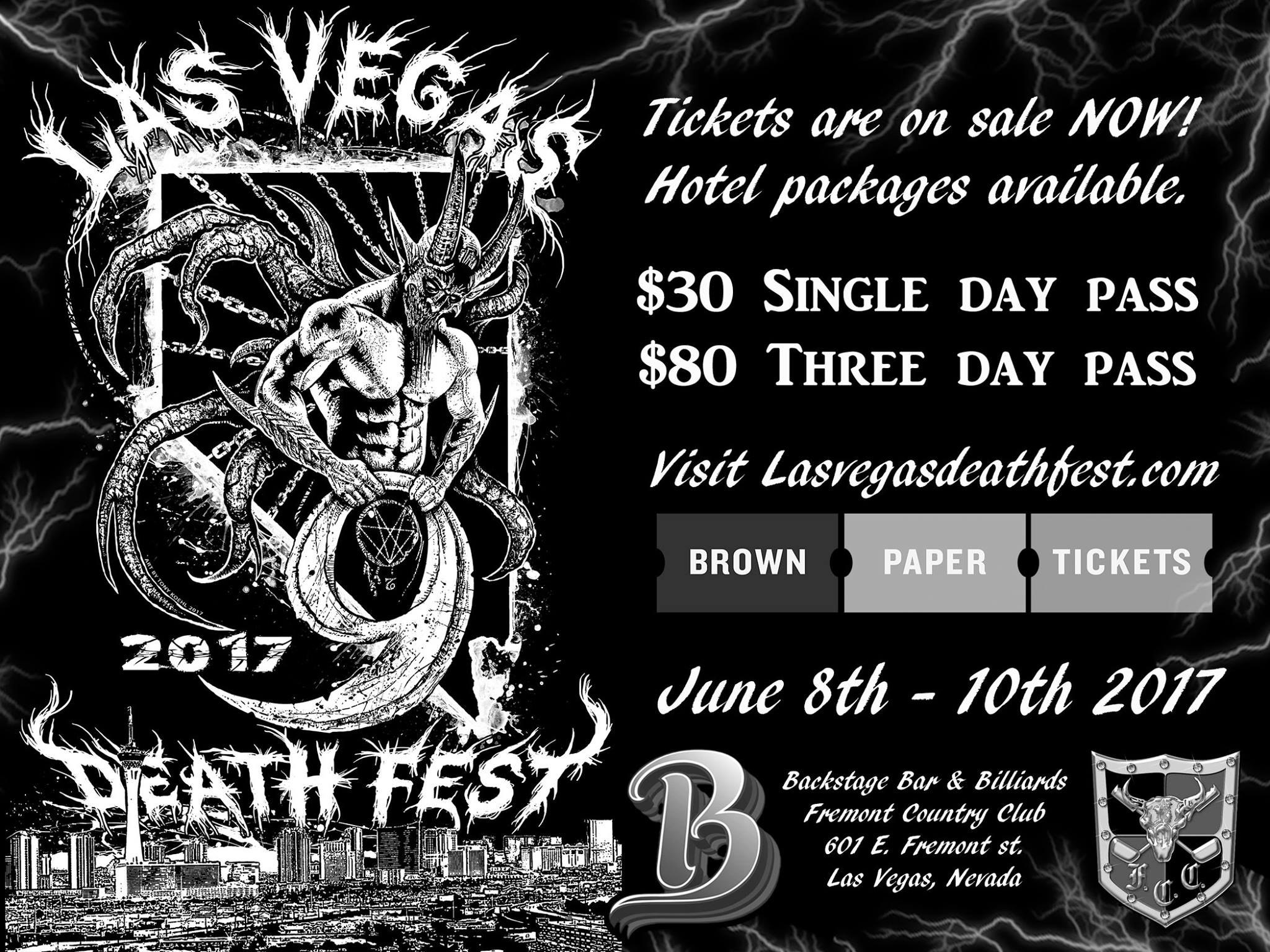 Las Vegas Deathfest 2017
