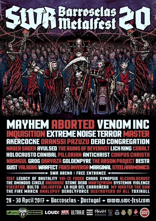SWR Barroselas Metalfest 2017