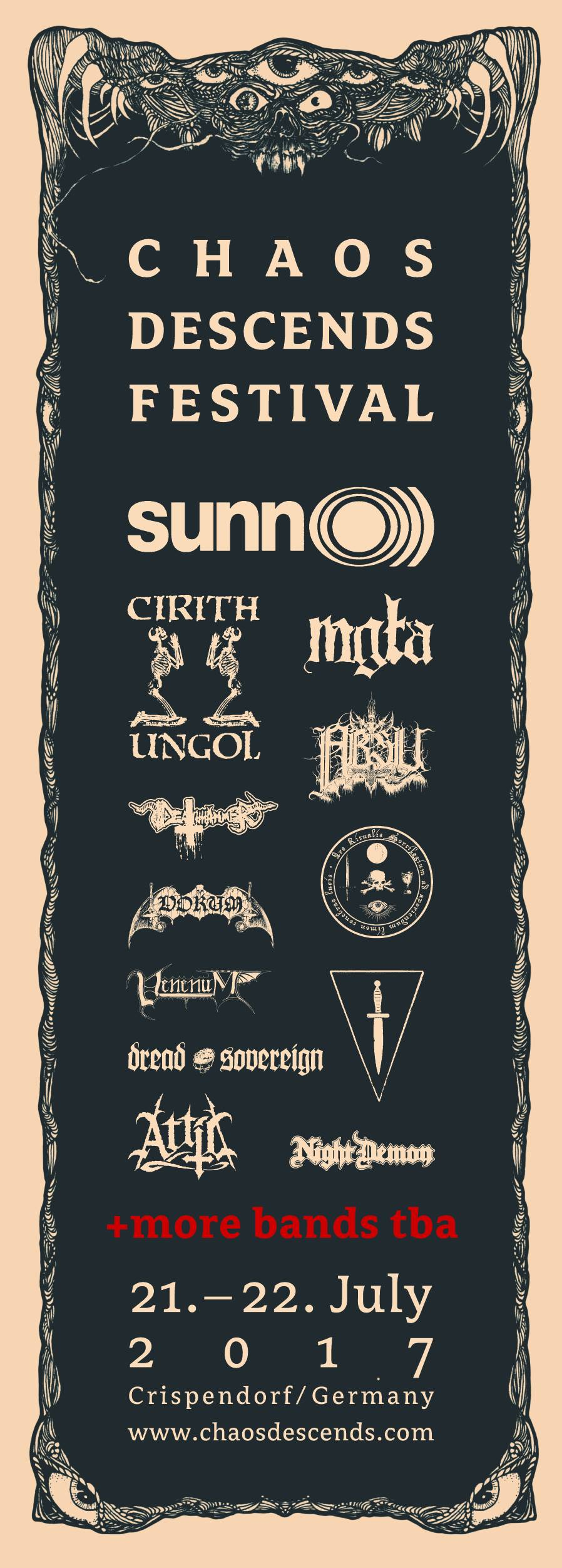 Chaos Descends Festival 2017