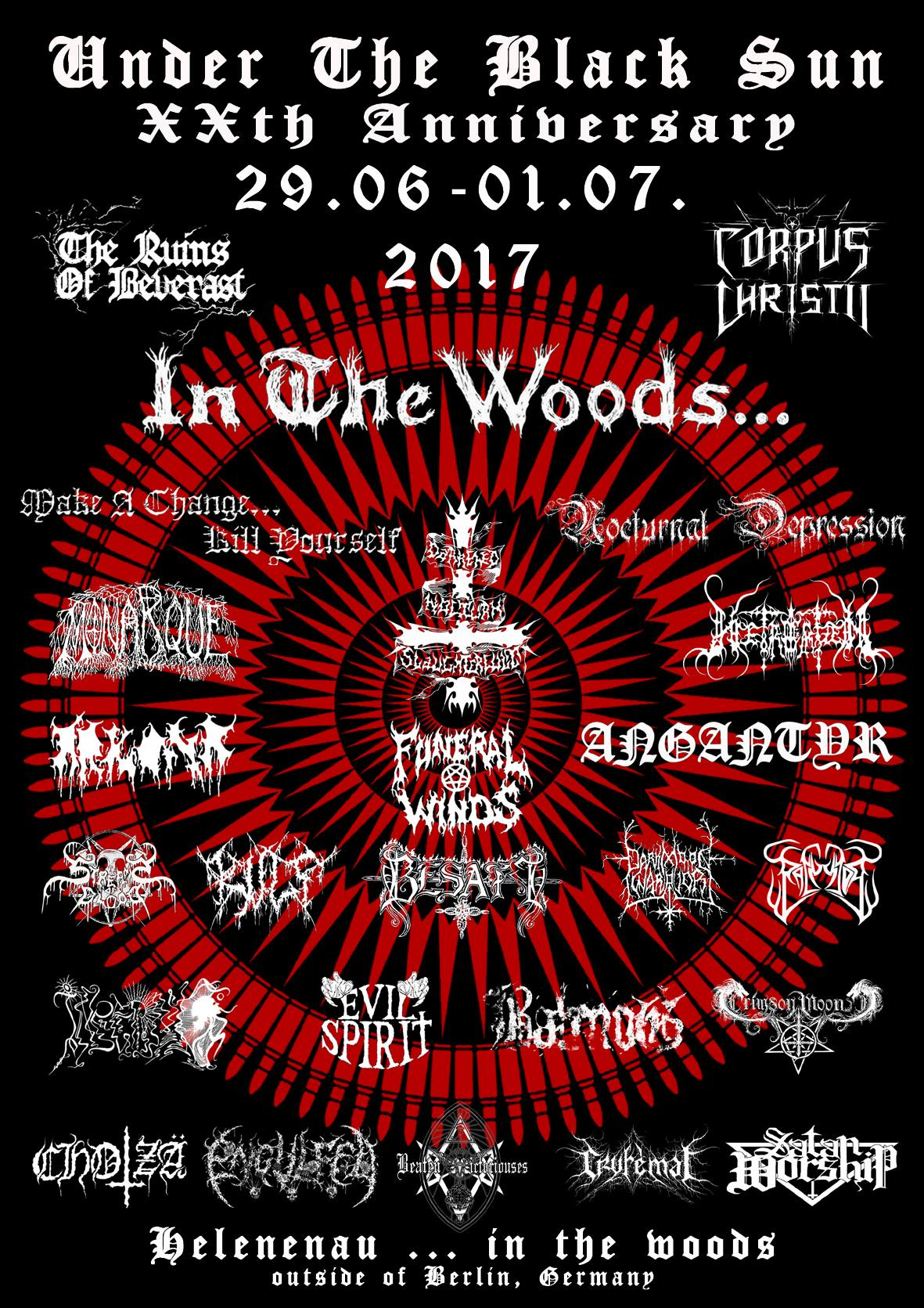 Under The Black Sun Festival 2017