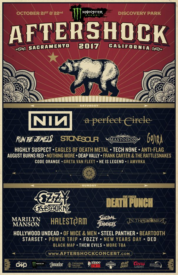 Aftershock Festival 2017