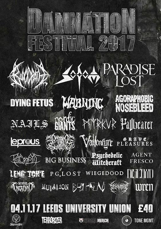 Damnation Festival 2017