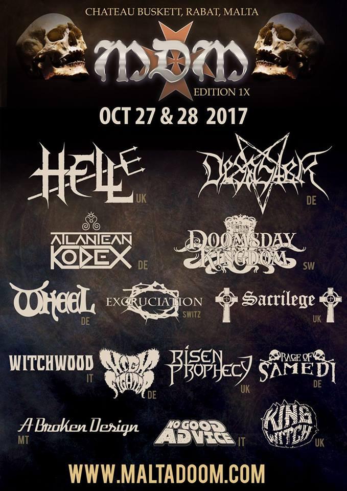 Malta Doom Festival 2017