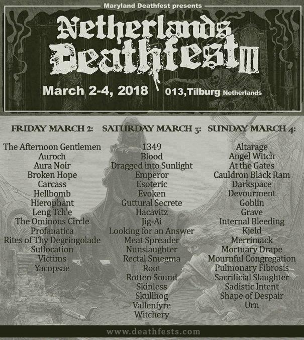 Netherlands Deathfest 2018
