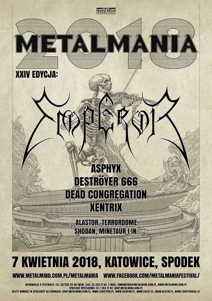 Metal Mania 2018 Festival