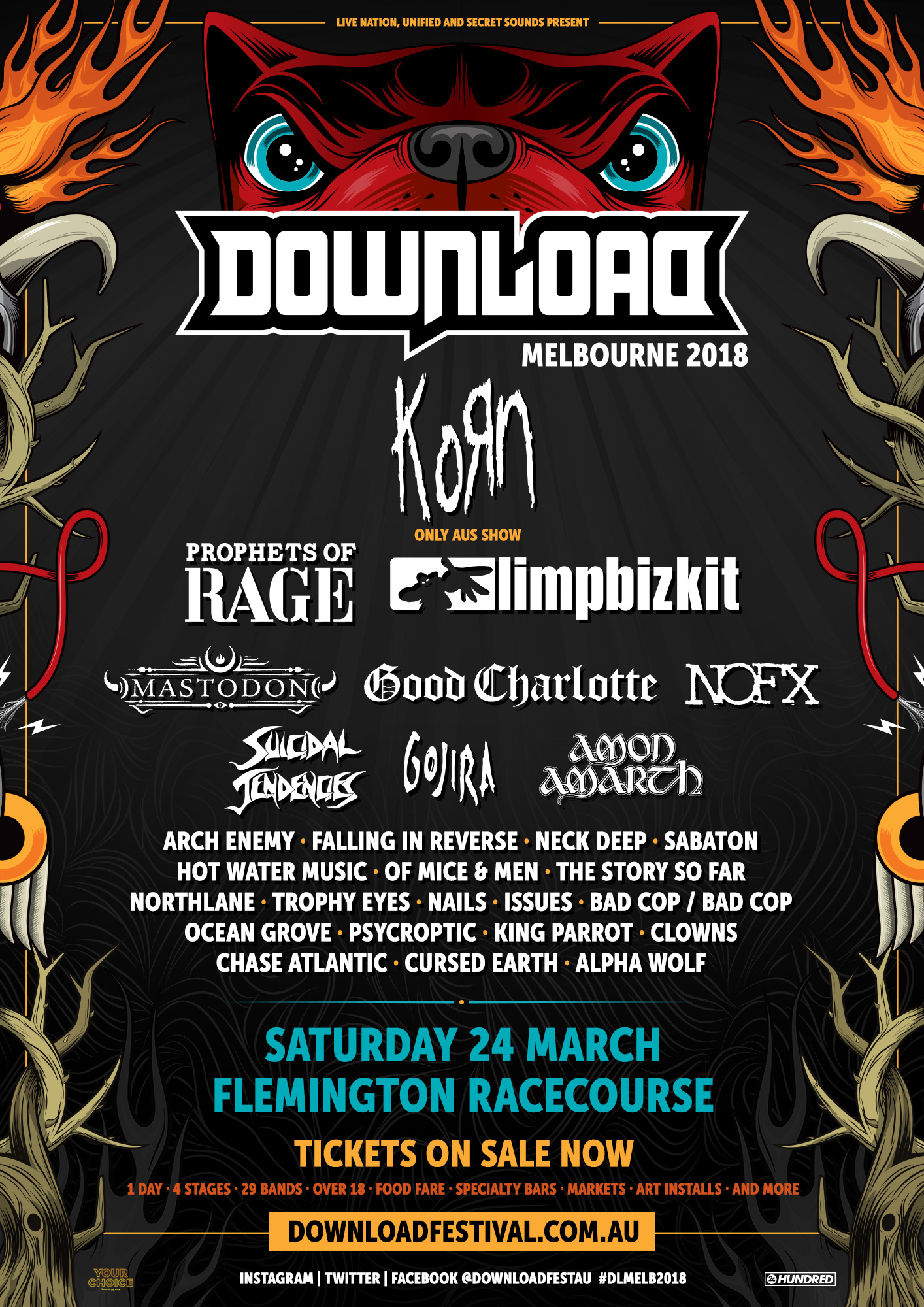 Download Festival 2018 – Melbourne
