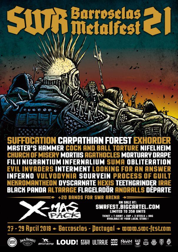 SWR Barroselas Metalfest 2018