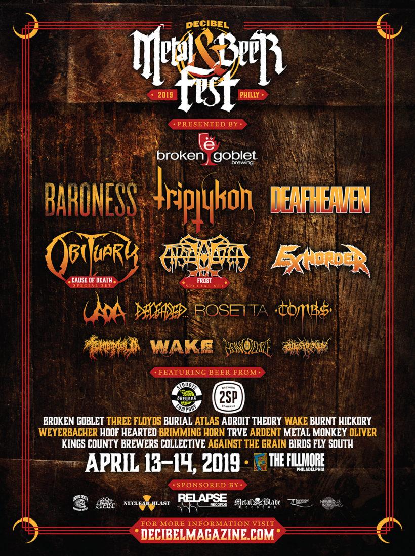 Decibel Metal And Beer Festival 2019