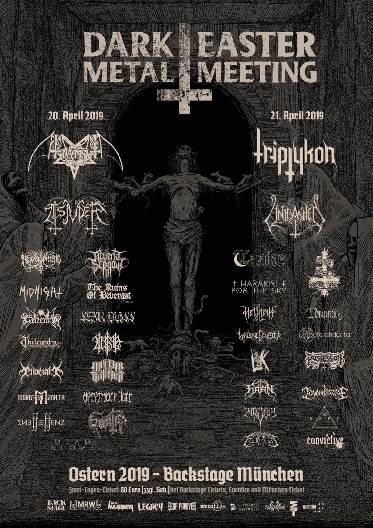 Dark Easter Metal Meeting 2019